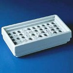 Bel-Art Microcentrifuge Tube Refrigerator Racks, SCIENCEWARE - Polypropylene, Model 189050001, Each